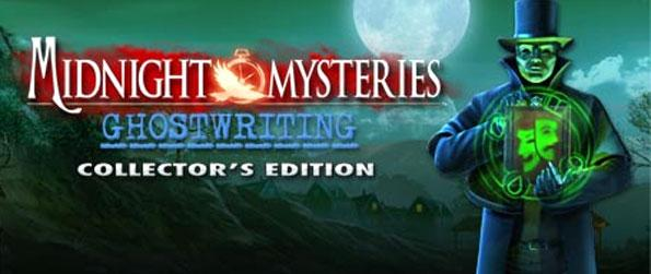Midnight Mysteries: Ghostwriting - Save Charles Dickens from a crazed masked man in a thrilling hidden object adventure.
