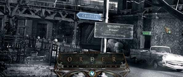 The Secret Order: New Horizon - The Secret Order: New Horizon comes with a great deal of elaborate hidden object scenes and riddles to complete. As you make your way through the distant past, you'll encounter different situations that will mould the events occurring in the present as well as the future.